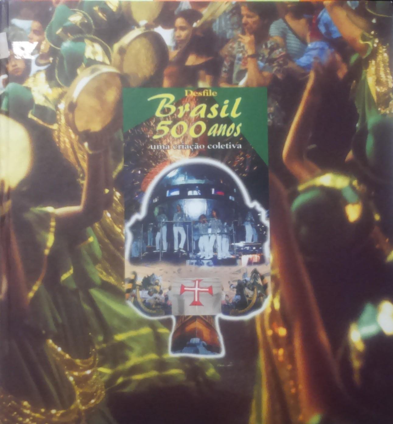 capa livro desfile brasil 500 anos