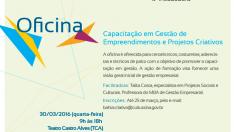 1603-CR001 Gestao de empreendimentos e projetos criativos - 30.03 TCA