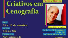 OFICINA DE CENOGRAFIA: Processos Criativos em Cenografia Márcio Medina
